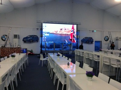 VIP area BMW Ski World Cup @ Oslo (Noruega)